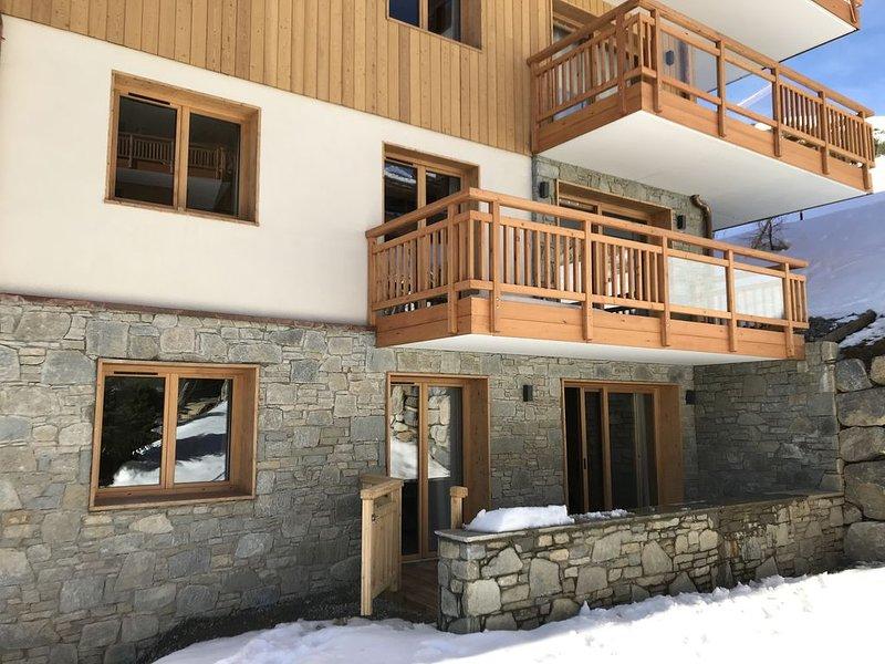 App spacieux et cosy dans residence de standing avec parking & piscine,, vacation rental in L'Alpe-d'Huez