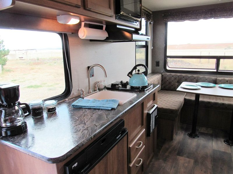 Glamper -- Let us set up our camper in the campground of your choice!, holiday rental in Lewis