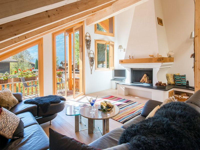 Duplex Penthouse in Chalet Stella, vacation rental in Wengen