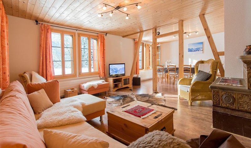 Chalet Im Bätzenboden - unique, detached, authentic, location de vacances à Wengen