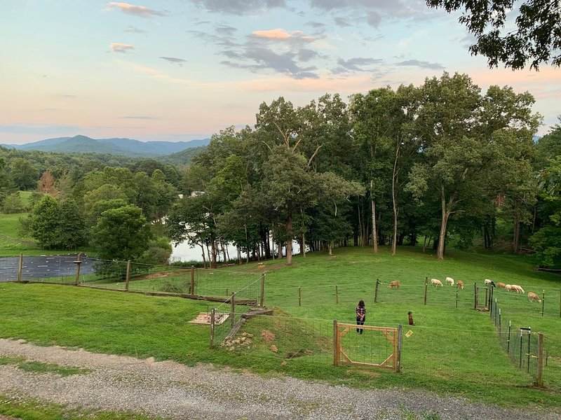 Agri-Tourism Rental in Greater Asheville North Carolina Area, casa vacanza a Fairview