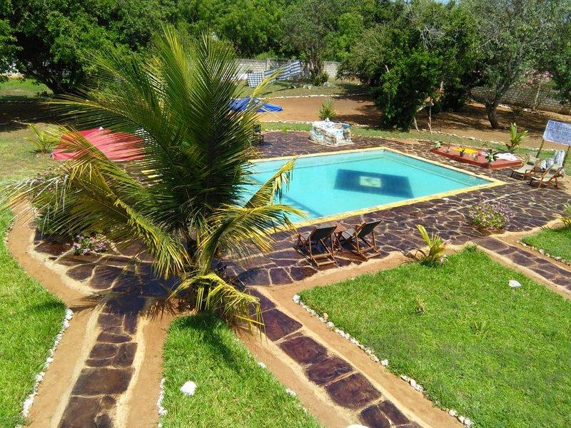 TRANQUIL COTTAGE ONE, KILIFI, BOFA, location de vacances à Kilifi