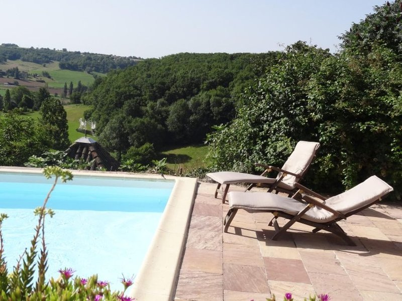 Tranquil Gite Gairaud, vacation rental in Lauzerte