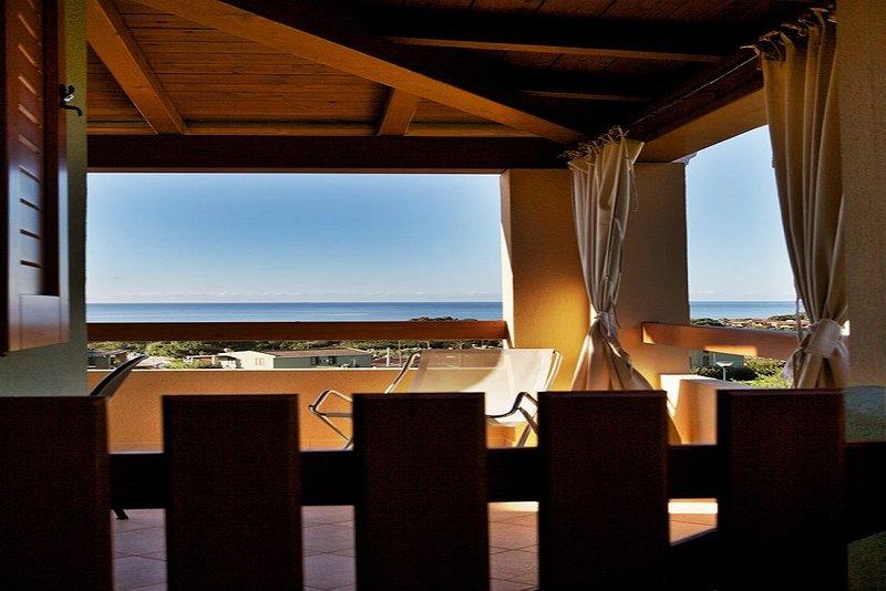 I GIGLI DEL MARE   BILOCALE CON  VISTA MARE, vacation rental in Costa Rei