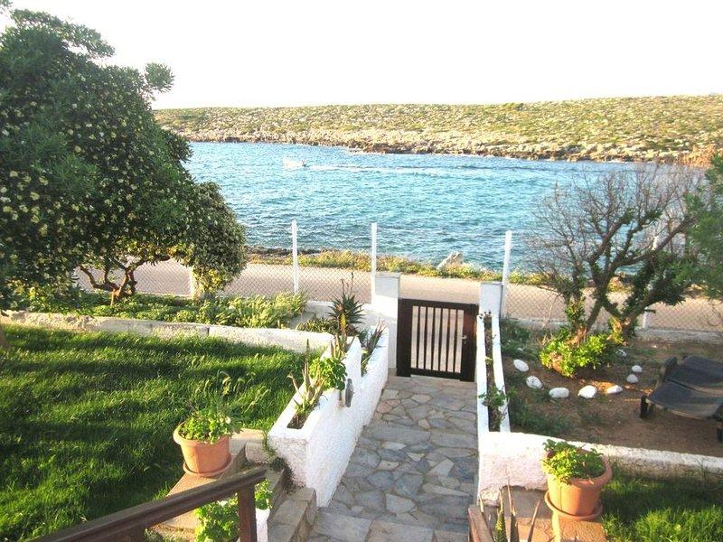 Villa Valdiva on the beach, holiday rental in Kalathas