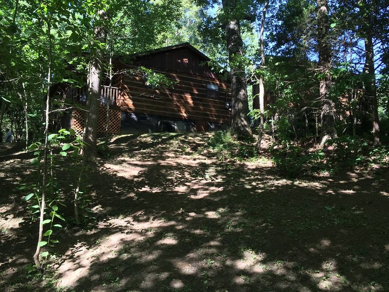 Cozy cabin with Hot Tub, Swing, semi wrap around porch. Min from Smokey Mtn's!, holiday rental in Newport