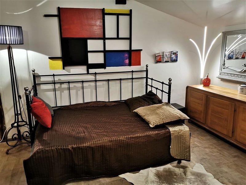 Maison en bords de saone Lyon, aluguéis de temporada em Lozanne