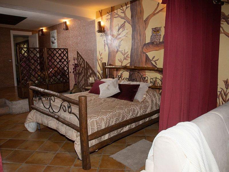 BAITA IN MONTAGNA CON VASCA IDROMASSAGGIO, vakantiewoning in Contursi Terme