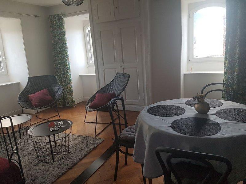 Appartement 100 m² dans maison de Maître, holiday rental in Soultzeren