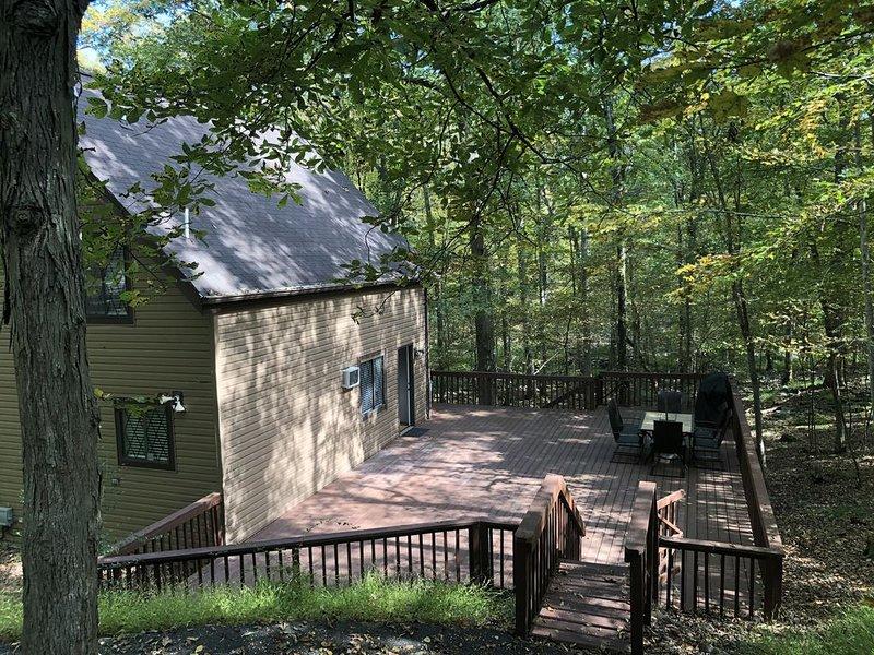 Cozy Cottage at Saw Creek – semesterbostad i Bushkill