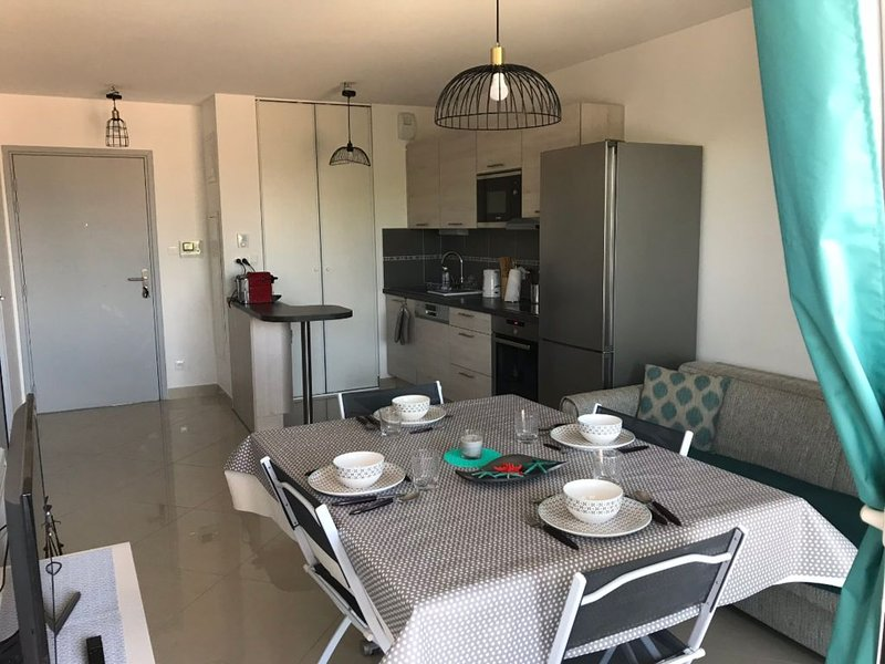 Comfortable & Bright luxury Flat, holiday rental in Gruissan