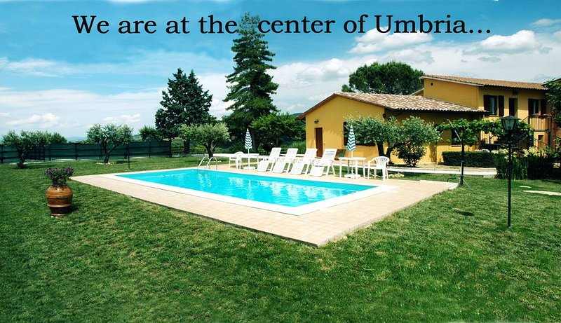 L'ORTO:appartamento in agriturismo al centro dell'Umbria a 15 minuti da Assisi, vacation rental in Canalicchio