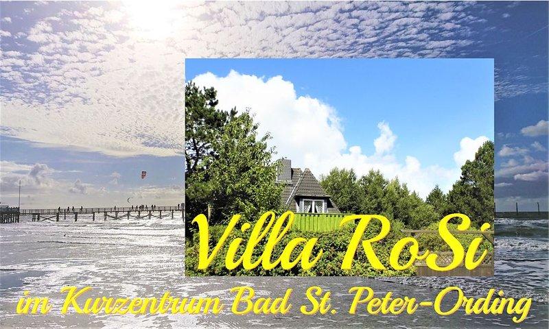 Villa RoSi 1 - FeWo im Bad-Zentrum, holiday rental in Sankt Peter-Ording