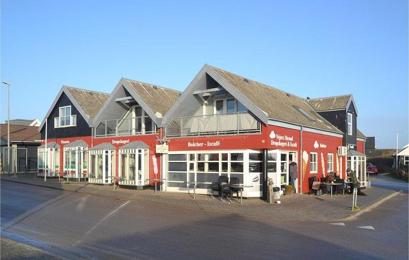 2 Zimmer Unterkunft in Vejers Strand, aluguéis de temporada em South Jutland