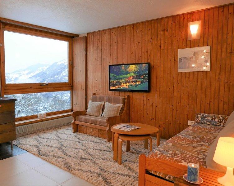 Courchevel Le Praz - Ski aux pieds - Vue et lumière - Centre aquatique, location de vacances à Courchevel