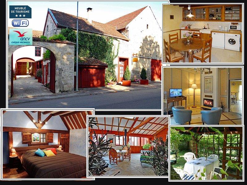 La loge du Huchier a été conçue avec le confort nécessaire pour 2-4 personnes., holiday rental in Montbard