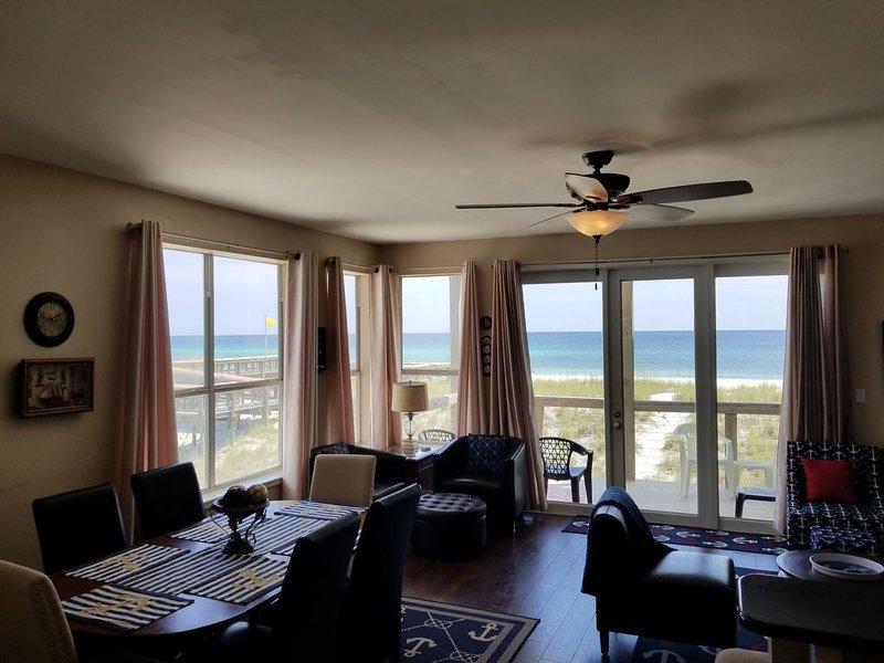 Oceanfront w/3 Master Suites+BR big loft,over 2,600ft2+Balconies-OCEAN/BAY Views, alquiler de vacaciones en Navarre