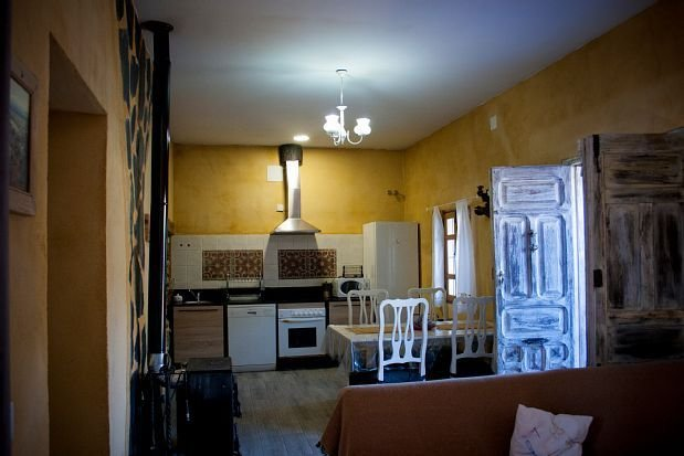 Casa rural (alquiler íntegro) Tierra y Agua para 4 personas, location de vacances à Las Navillas