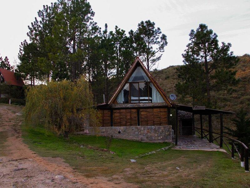 Cabaña EL EUCALIPTO - LOS ARROYITOS, alquiler de vacaciones en San Luis