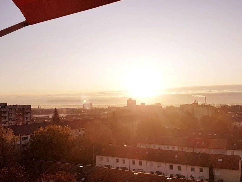 Penthouse 'Marc Aurel' mit Fernblick, zentral und sehr gute Anbindung, holiday rental in Bad Bocklet