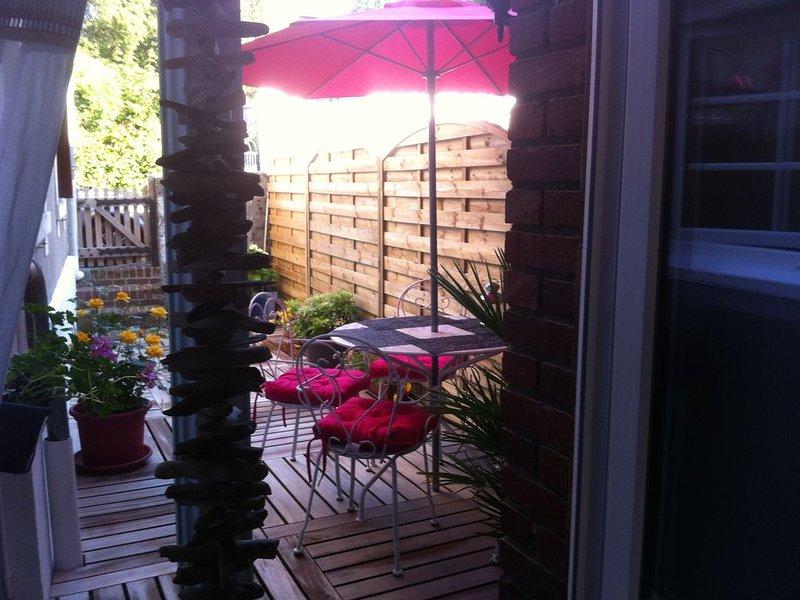 Maison SHABBY au coeur d'Etretat, location de vacances à Le Tilleul
