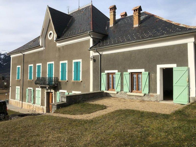 Gîte indépendant dans une grande maison à Seyne les Alpes, 6 couchages, holiday rental in Seyne