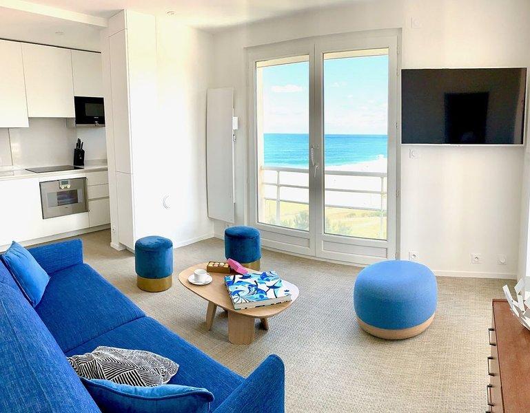 Vue superbe sur l'océan, la plage à vos pieds !, casa vacanza a Hossegor