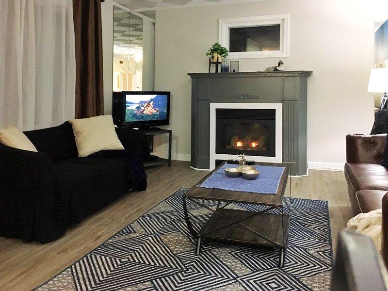 The  Corner Window has great lighting and unusual Windows, vacation rental in Regina