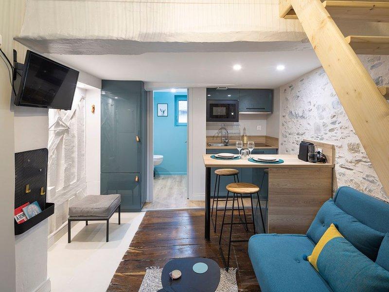 Le Blue - Studio mezzanine, aluguéis de temporada em Rennes