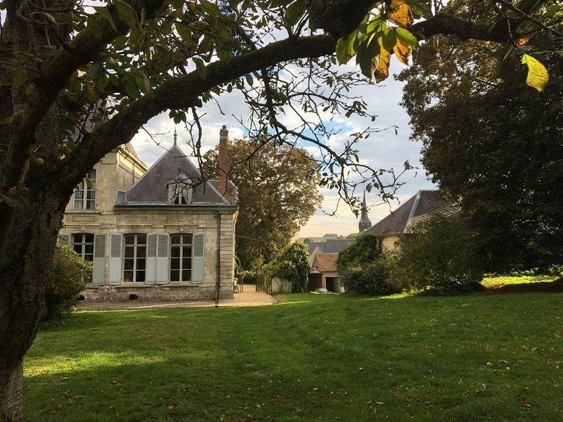 Magnifique Chateau du 18eme a 15 min d'Amiens, location de vacances à Frise