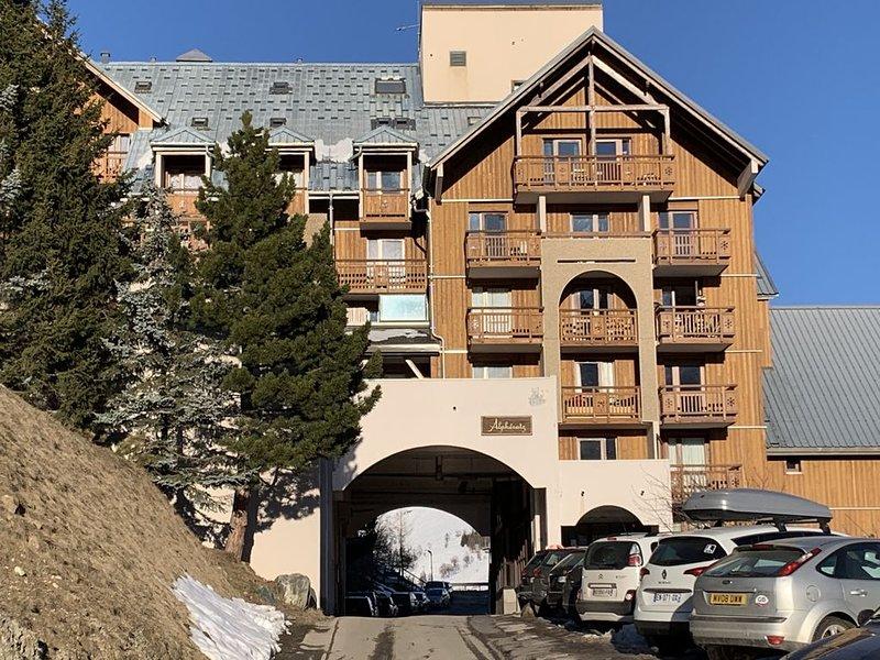 Bel appartement 2 pieces dans la station des 2 Alpes, alquiler vacacional en Les Deux-Alpes