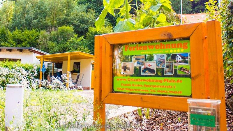Urlaubswohnung Pfalz   Die 4-Sterne Ferienwohnung   im Herzen des Pfälzerwaldes, vacation rental in Kaiserslautern