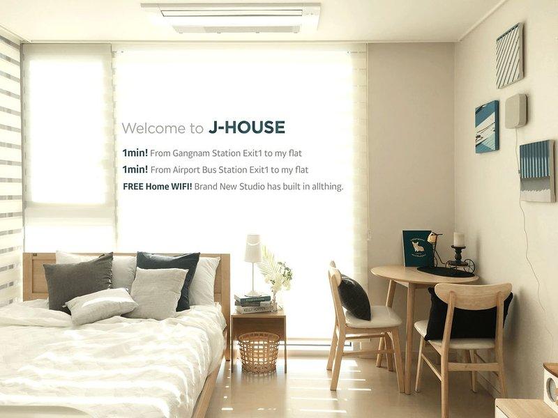 Lovely house♡ Gangnam St 1Min, Neat&Modern Style!, vacation rental in South Korea