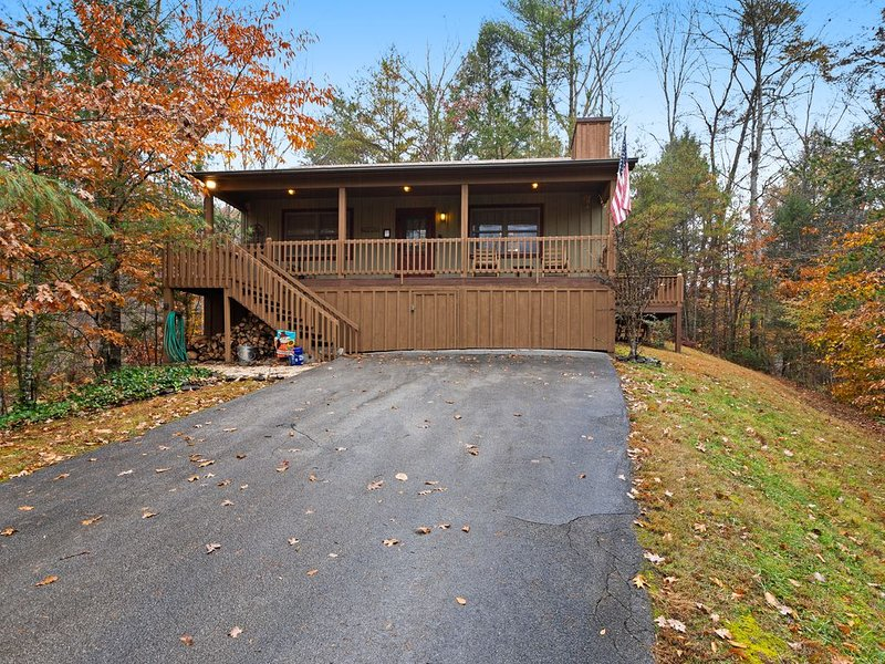 Charming, dog-friendly cabin - great for a romantic getaway!, holiday rental in Townsend