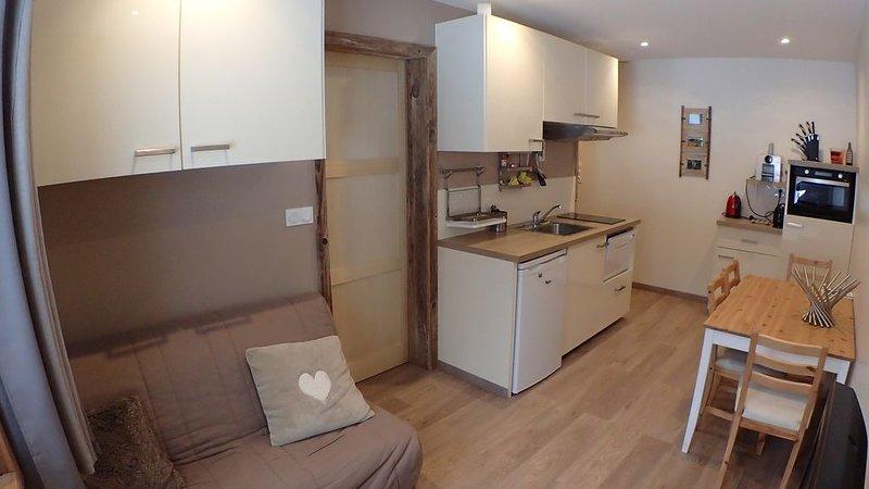Appartement 4 personnes - Au calme dans le Jura, location de vacances à Les Rousses