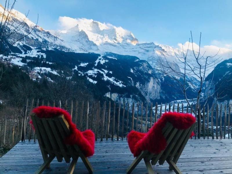 Ferienwohnung Wengen für 2 - 4 Personen mit 1 Schlafzimmer - Ferienwohnung in Ba, vacation rental in Saxeten