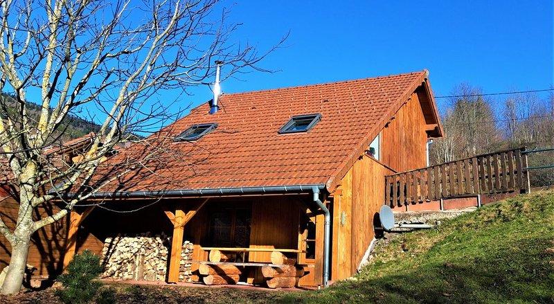 Chalet des Chauproyes, Hautes Vosges, holiday rental in Oderen