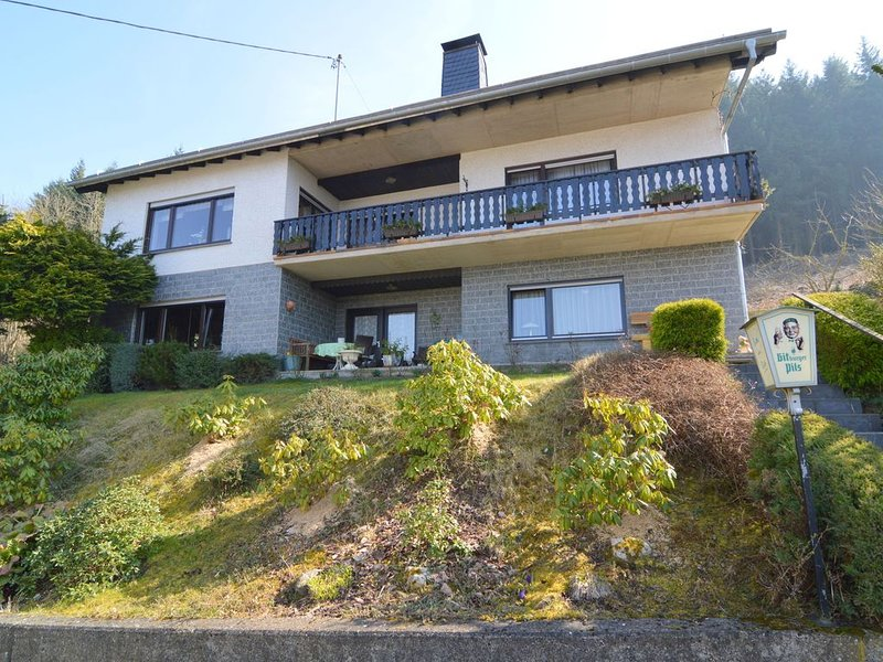 Apartment located on the edge of a forest with a fantastic view, holiday rental in Uersfeld