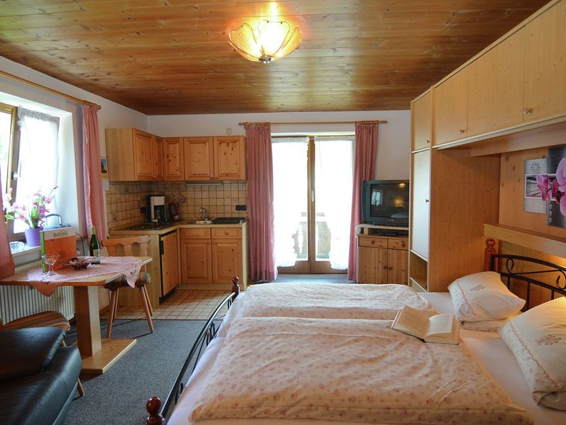 Mountain-view Apartment in Bad Bayersoien for Couples, holiday rental in Rottenbuch
