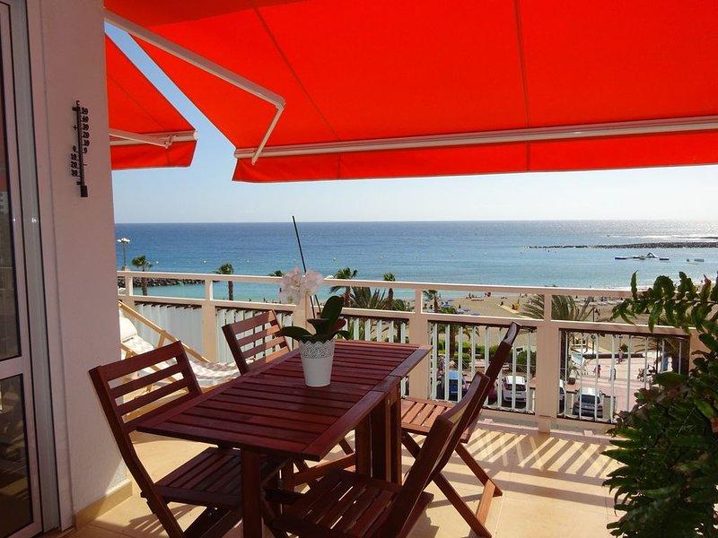 Penthouse sur plage de Las Vistas-Luxueux appartement avec grande terrasse – semesterbostad i Arona