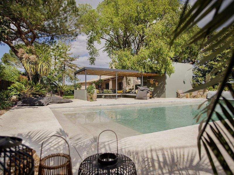 Maison de Vacances Piscine chauffée et Jacuzzi, vacation rental in Vendargues