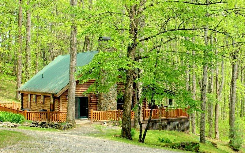 Wilderness Lodge: A Private Oasis on 200 Acres, location de vacances à Hot Springs