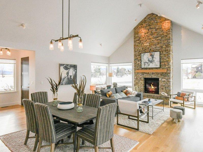 Clean, Bright & Modern Teton Valley Retreat, holiday rental in Driggs