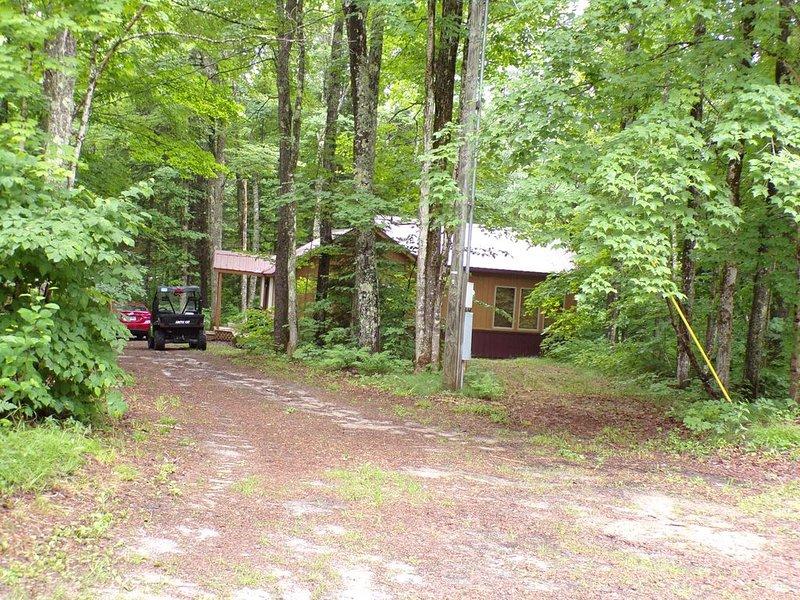 Not 1 but 2 cabins located in the Hiawatha Forest in Upper Michigan, alquiler de vacaciones en Au Train
