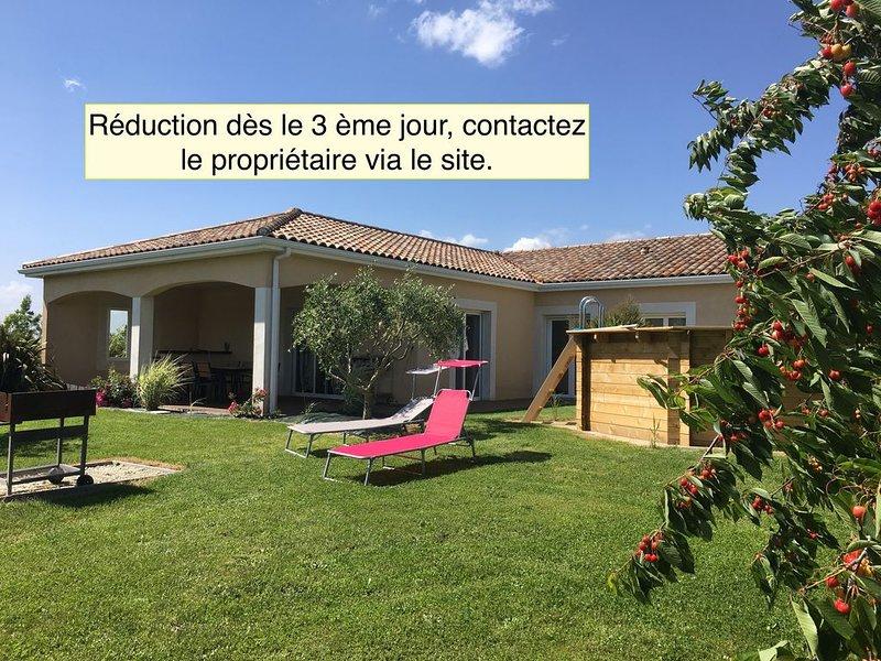 Maison de vacances à la campagne, vacation rental in Beauville