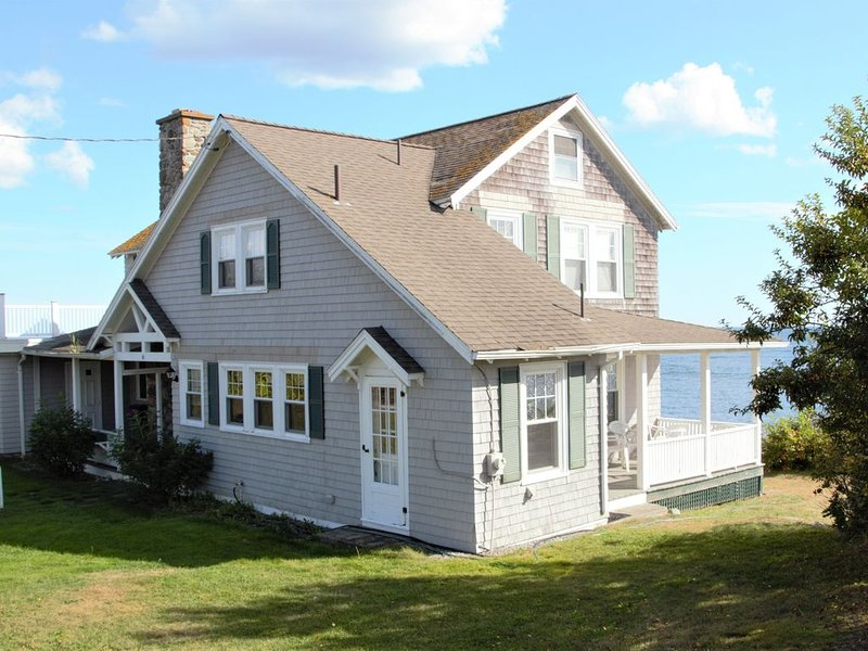 Ocean Front in Fortunes Rocks, alquiler vacacional en Biddeford Pool