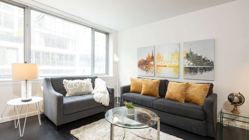 Designer-decorated luxury 2 bed 2 Bath Chelsea Prime Location 5251, holiday rental in Hoboken