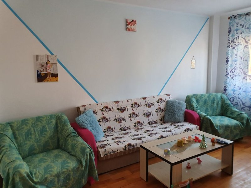 CENTRAL APARTMENT- with 2 rooms , kitchen, bath - Sibiu, holiday rental in Porumbacu de Sus