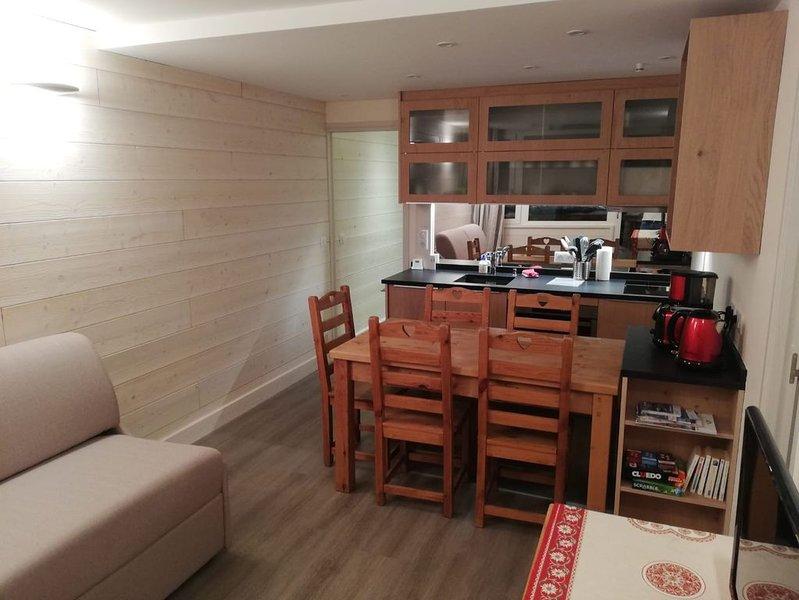 Plagne Aime 2000 - Appartement 4 personnes entièrement rénové, vacation rental in Macot-la-Plagne