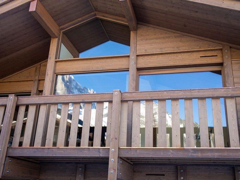 Chalet neuf pour 6 personnes Chamonix Les Praz, holiday rental in Les Praz-de-Chamonix